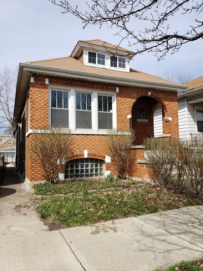Chicago IL Single Family Home Re-Activated: $169,000
