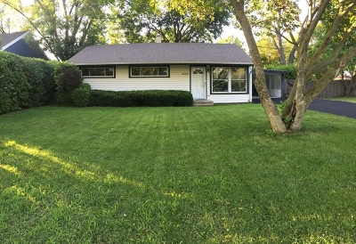 Lisle Single Family Home Contingent: 800 Rolling Drive