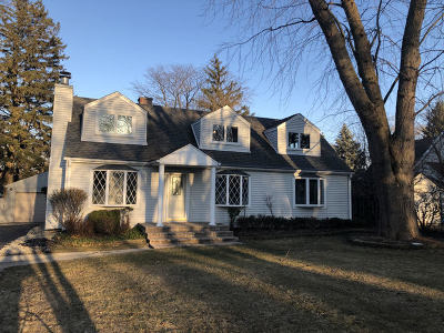 Glenview Single Family Home For Sale: 813 Glendale Road