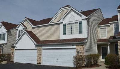Streamwood Condo/Townhouse New: 443 Locksley Drive