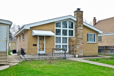 Skokie Single Family Home For Sale: 3849 Fargo Avenue