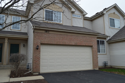 Streamwood Condo/Townhouse For Sale: 183 Southwicke Drive