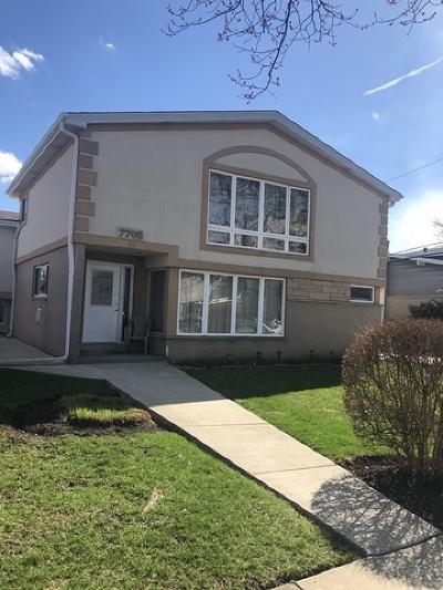 Morton Grove Single Family Home For Sale: 7705 Palma Lane