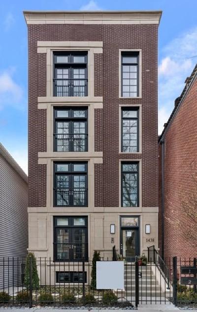 Condo/Townhouse For Sale: 1438 North North Park Avenue #1