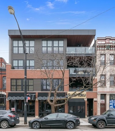 Condo/Townhouse For Sale: 1902 West Division Street #2N