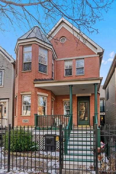 Single Family Home For Sale: 1524 North North Park Avenue