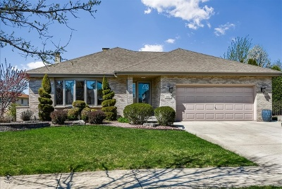 Orland Park Single Family Home For Sale: 11612 Burnley Drive
