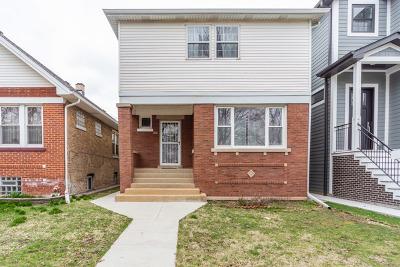 Single Family Home For Sale: 2536 West Berteau Avenue