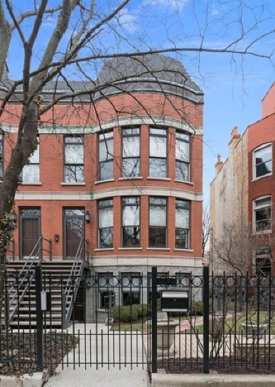 Single Family Home For Sale: 1538 West Jackson Boulevard