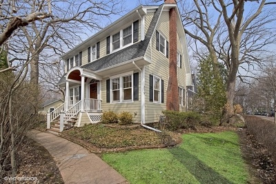 Wilmette Single Family Home For Sale: 215 Wood Court