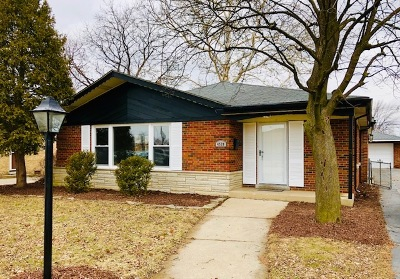 Oak Lawn Single Family Home New: 4528 West 102nd Place