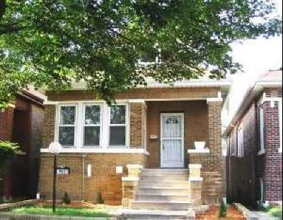 Chicago IL Single Family Home Re-Activated: $139,500