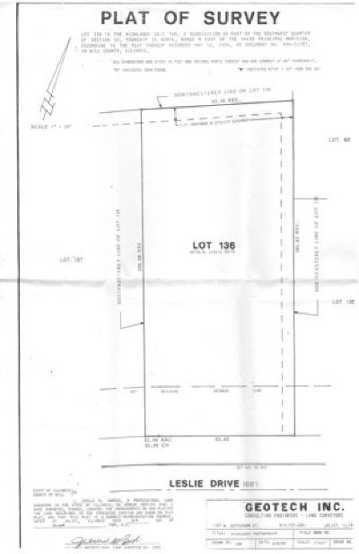 Channahon Residential Lots & Land For Sale: 26106 West Leslie Drive