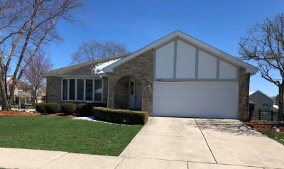 Orland Park Single Family Home For Sale: 16403 Stuart Avenue