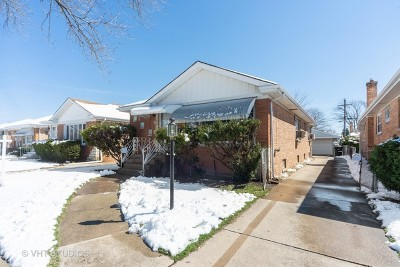 Single Family Home For Sale: 4605 North Canfield Avenue