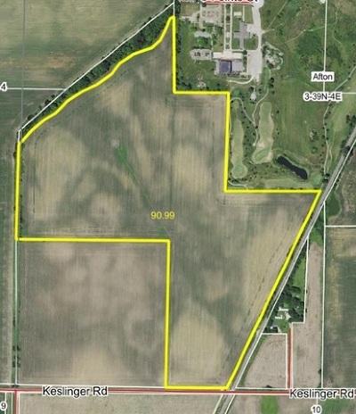 Dekalb Residential Lots & Land For Sale: 96 Acres Keslinger Road