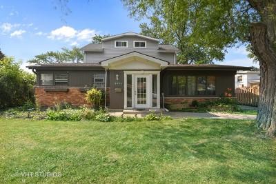 Glenview Single Family Home For Sale: 2601 Fontana Drive