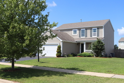 Yorkville Single Family Home For Sale: 381 Bertram Drive