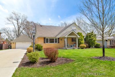 Glen Ellyn Single Family Home For Sale: 1n575 Park Boulevard