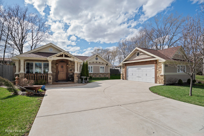 Palos Heights, Palos Hills Single Family Home Contingent: 9920 South 87th Avenue