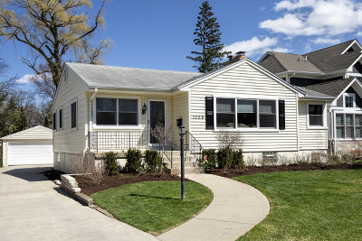Deerfield Single Family Home For Sale: 1058 Central Avenue