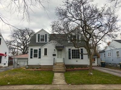 Lansing Single Family Home New: 3414 186th Street