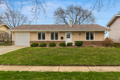 Hoffman Estates Single Family Home New: 1313 West Oakmont Road