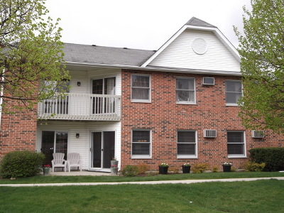 Lake In The Hills Condo/Townhouse For Sale: 1311 Cunat Court #1A