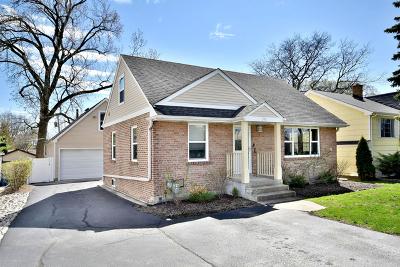 Elmhurst Single Family Home For Sale: 396 West St Charles Road