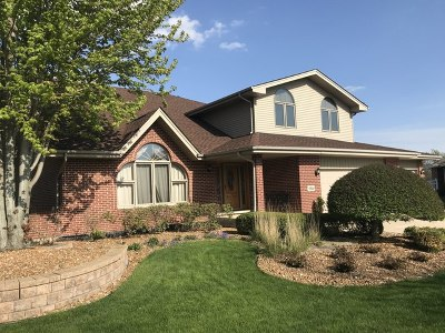 Tinley Park Single Family Home For Sale: 17831 Westbridge Road