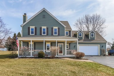 Spring Grove Single Family Home For Sale: 9704 North Hunters Lane