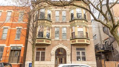 Condo/Townhouse For Sale: 743 North Wolcott Avenue #1