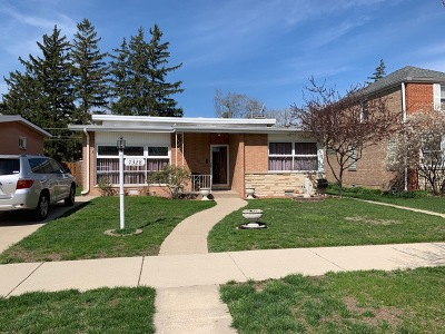 Lincolnwood Single Family Home New: 7328 North Keeler