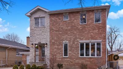 Chicago Single Family Home New: 6054 North Kostner Avenue