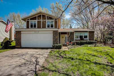 Woodridge Single Family Home For Sale: 8119 Leawood Lane