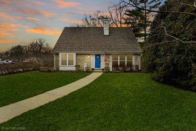 Wilmette Single Family Home For Sale: 1058 Wilmette Avenue