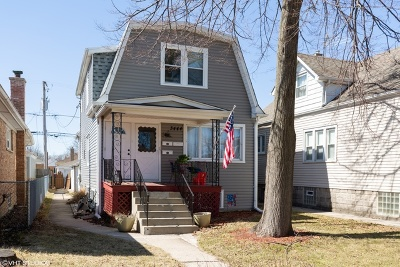 Chicago Single Family Home New: 3444 North Osage Avenue