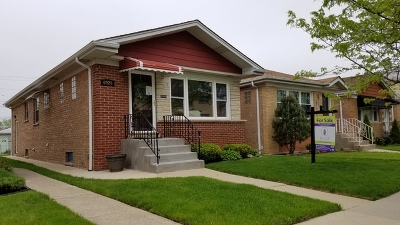 Chicago Single Family Home New: 6920 West Higgins Avenue