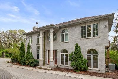 Burr Ridge Single Family Home New: 10s700 Garfield Street