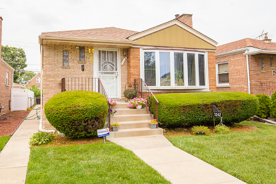 Cook County Single Family Home New: 3242 West 84th Place