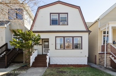 Chicago Single Family Home New: 5245 West Carmen Avenue