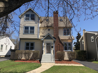 Du Page County Single Family Home New: 719 South Yale Avenue