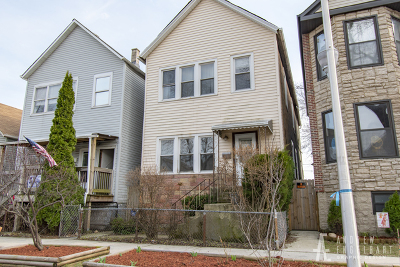 Chicago Single Family Home New: 523 West 46th Place