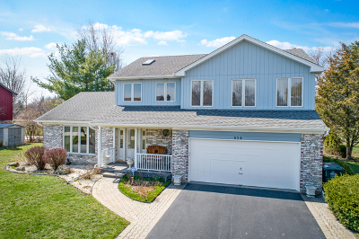 Prospect Heights Single Family Home For Sale: 814 Derbyshire Lane
