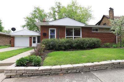 Deerfield Single Family Home For Sale: 1151 Hazel Avenue