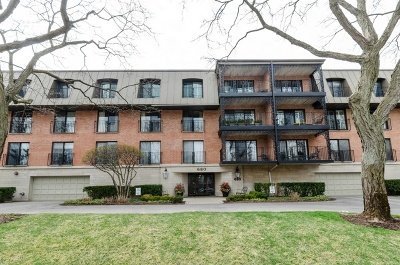 Winnetka Condo/Townhouse For Sale: 680 Green Bay Road #108