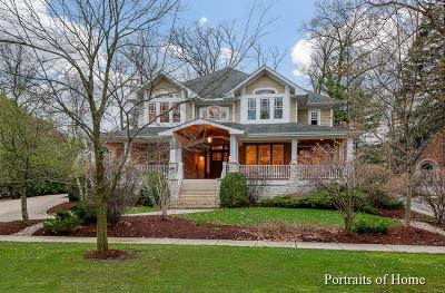 Glen Ellyn Single Family Home For Sale: 687 Oak Street