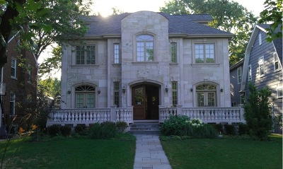 Park Ridge IL Single Family Home New: $1,575,000