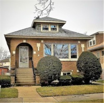 Cook County Single Family Home New: 7931 West Birchdale Avenue