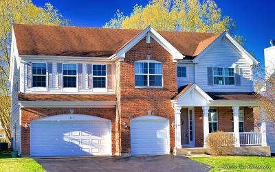West Chicago  Single Family Home New: 266 Laurel Lane